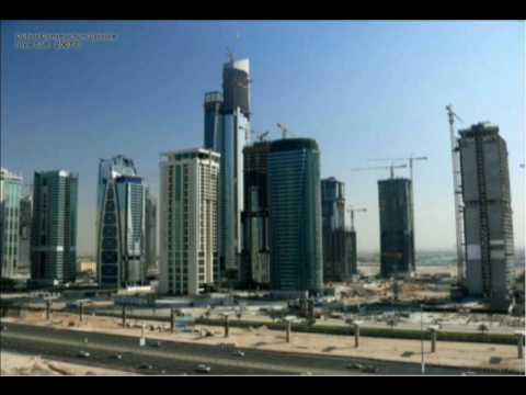 Almas Tower time lapse