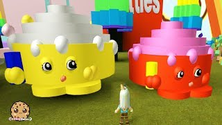 Giant Shopkins ! Let's Play Roblox Games with Cookie Swirl C
