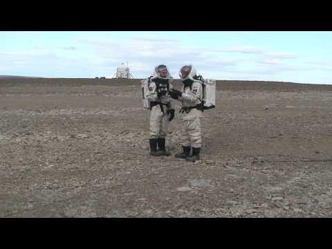 FMARS 2009 - EVA 10 in HD - Brian & Vernon Compare Notes