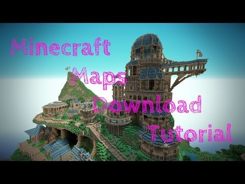 How To Download Maps Minecraft Xbox 360 Edition New Updated TU14 2014-2015 Working