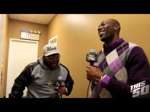 Terrell Owens Talks Bill Cosby Allegations; Working Out