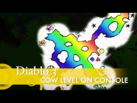 Diablo 3 Cow Level on Console AND HOW TO GET THERE **SPOILER**