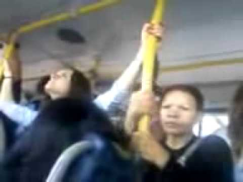 A tia tarada do ônibus -- Indecent woman on the bus