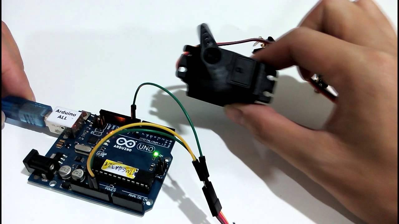 Arduino servo code download
