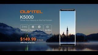 Unboxing Smartphone OUKITEL K5000.