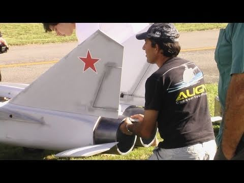 The World's Largest Mig 25 RC Scale Model Jet?