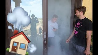 HOT BOXING A MANSION!! WORLD'S BIGGEST!! (Hide and seek)