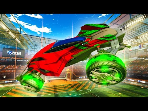 THE MANTIS MIGHT BE MY NEW FAVORITE ROCKET LEAGUE CAR!