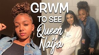GRWM for The Birth of Queen Naija Tour Live   LexiVee03