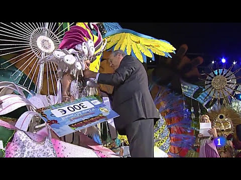 Lorena Ortega - Segunda Dama de Honor - Carnaval Maspalomas 2014