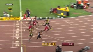 Usain Bolt beats Justin Gatlin and wins 100m final 2015