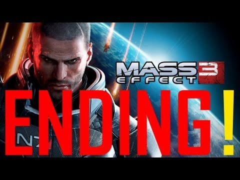 Mass Effect 3 Best Ending shepard lives - Ending 3 1080p  High EMS Destroy Renegade