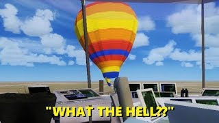 Best HOT AIR BALLOON Moments in Flight Simulator X (Multiplayer)