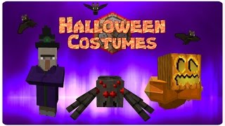 Halloween Costumes | ONLY TWO COMMAND BLOCKS (1.10)