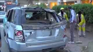 مقتل وجرح العشرات بانفجارين في بغداد