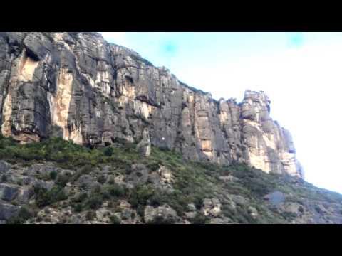 Испания. На Монсерат на фуникулере. (Montserrat)