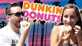 Californians Try Dunkin' Donuts For The First Time