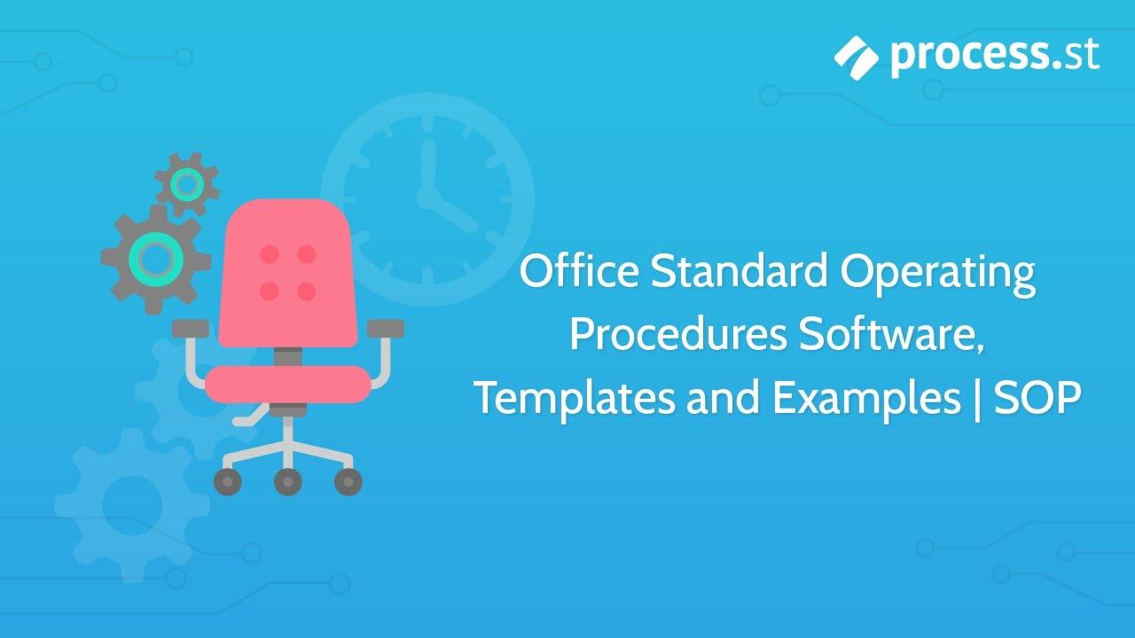 office standard operating procedures software  templates