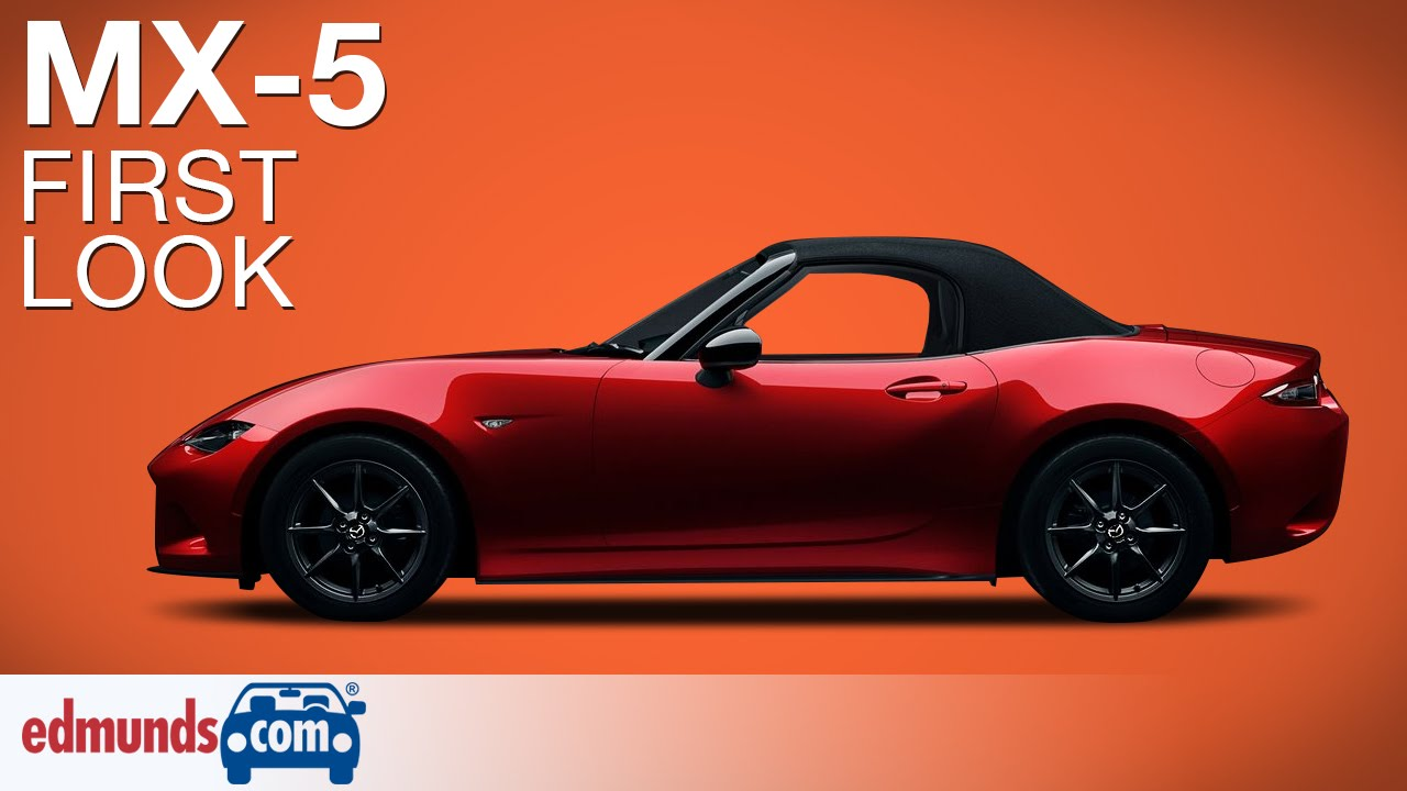 Innovative 2016 Mazda MX5 Miata First Look  Paris Auto Show  YouTube