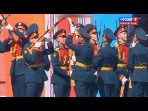 Парад Победы 9 мая 2018 года. Выступление суворовцев и музыкантов. Cuộc Diễu Binh Chiến Thắng