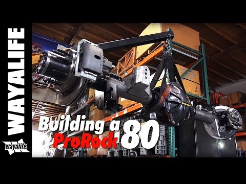 Building of a Dynatrac ProRock 80 Full-Float Rear Axle