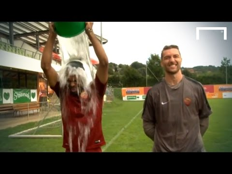Ashley Cole challenges Drogba & Terry in ALS Ice Bucket Challenge