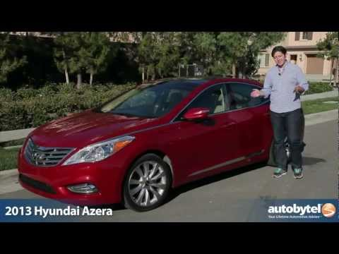 2013 Hyundai Azera Test Drive & Full Size Sedan Car Video Review