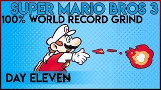 Super Mario Bros. 3 100% World Record Grind - Day 11