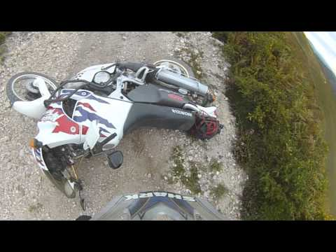 crash Africa Twin rd07A