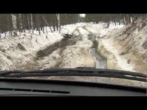 Chevrolet niva — offroad весной