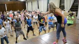 Asereje by Raquel Call -Master Class in Brazil 2013