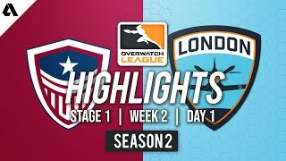 Washington Justice vs London Spitfire   Overwatch League S2 Highlights - Stage 1 Week 2 Day 1