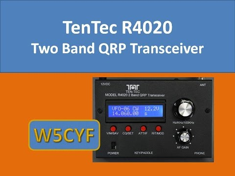Ten Tec R4020 QRP CW Review