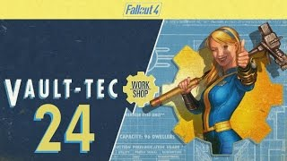 FALLOUT 4 (Vault-Tec Workshop) #24 : Is it OK to booby trap my bed?