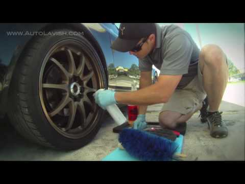 Cleaning Your Wheels and Tires
