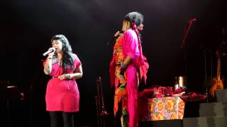 "Lila Downs & Carla Morrison ""Paloma Negra"" @ Greek Theatre L.A. 9-22-13"
