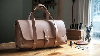 Making a Traditional Leather Tool Bag