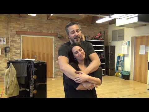 "KISS ME, KATE Rehearsal: ""Wunderbar"""