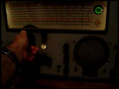 Receiver RU535 Listen Short Wave Radio Havana Cuba