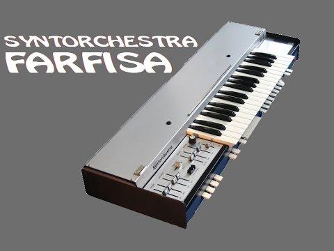 FARFISA SYNTORCHESTRA - Analog Synthesizer 1975 | HQ DEMO