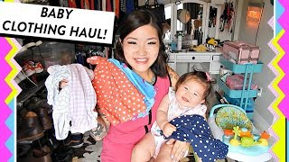 Baby Girl Clothing Haul | Spring & Summer Outfits + Baby Bathing Suit | HelloHannahCho