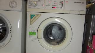 AEG L72600 : First wash   easy care 60'c Quick + sensitive