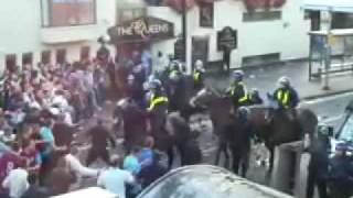 Match Riot | West Ham (ICF) vs Millwall (Bushwackers)2009