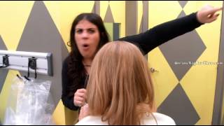 BBCAN2 Sabrina melting down Girl alliance meeting