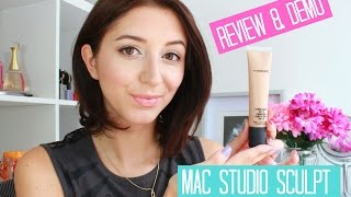 MAC STUDIO SCULPT FOUNDATION | REVIEW & DEMO