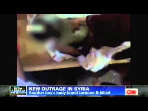 Syrian Child Found Tortured & Killed By Bashar al-Assad Government