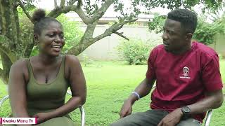 Kwaku Manu Aggressive Interview With ABYNA GHANABA (SLAY QUEEN) 🚨🔥❤