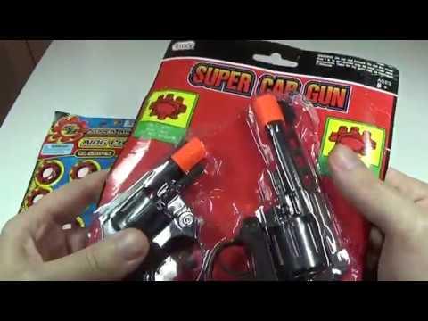 Смотрим пистолеты из 90-х с красными пистонами
