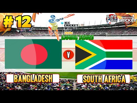 Icc Cricket World Cup 2015 (gaming Series) - Pool B Match 12 Bangladesh V South Africa video