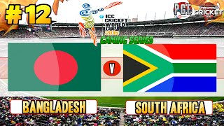 ICC Cricket World Cup 2015 (Gaming Series) - Pool B Match 12 Bangladesh v South Africa